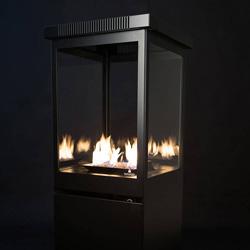 Estufas y chimeneas para eventos alquiler madrid for Alquiler estufas exterior
