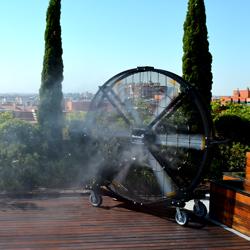 Sistemas de nebulizaci n para eventos - Ventiladores de agua ...