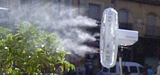 Ventiladores con Agua