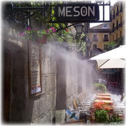 Sistemas De Microclima Instalaciones De Agua Nebulizada